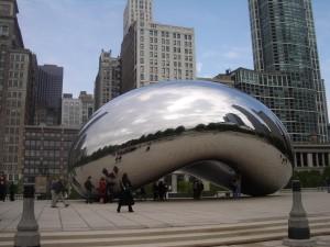 millennium-park-cloud-gate-esculptura-de-anish-kapoor-the-bean-chicago